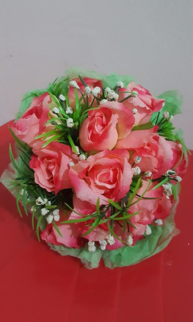 #Special1010 Hand Bouquet Bunga Palsu