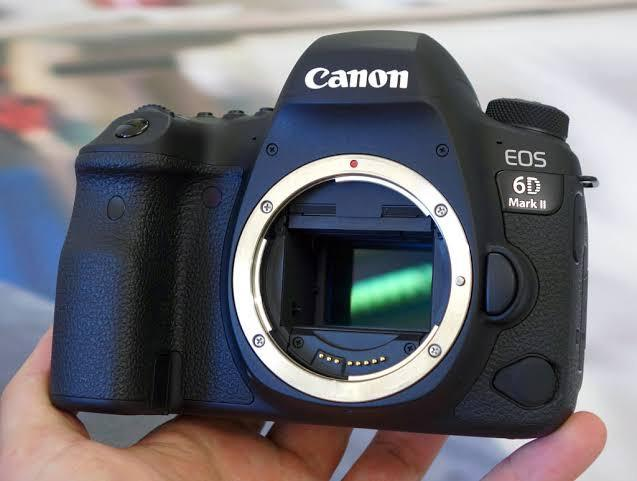 Canon EOS 6D Mark II DSLR (Body Only) Bisa Kredit