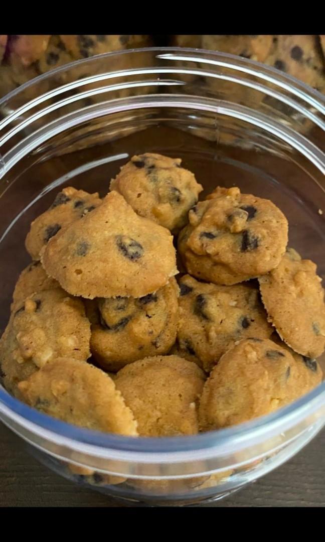 biskut coco crunch hybrid art Resepi Biskut Oat Coklat Putih Enak dan Mudah