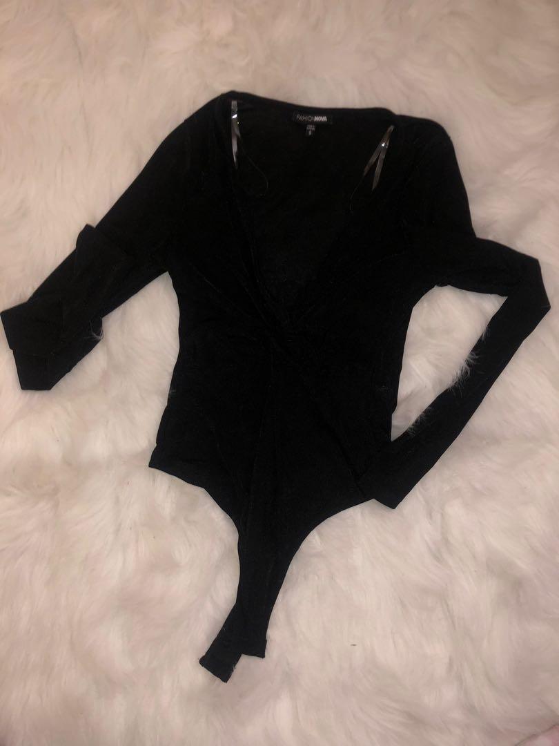 Fashion Nova Body Suit NEW