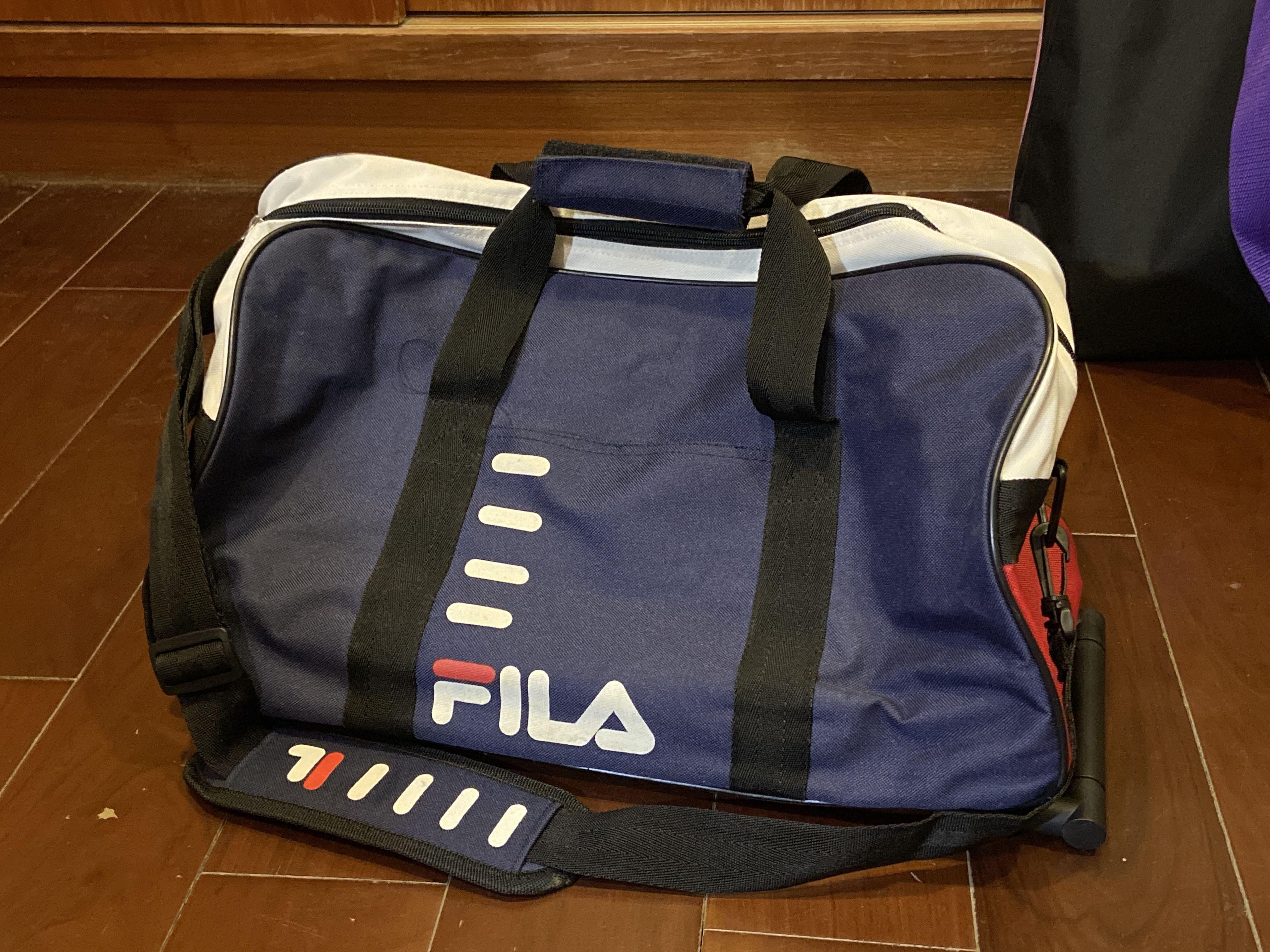 FILA 旅行袋 旅行包 手提包