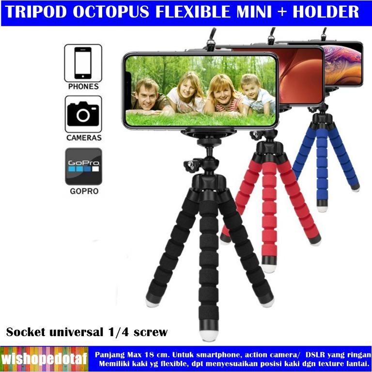 Flexible Gorillapod Octopus Tripod For Phone Camera