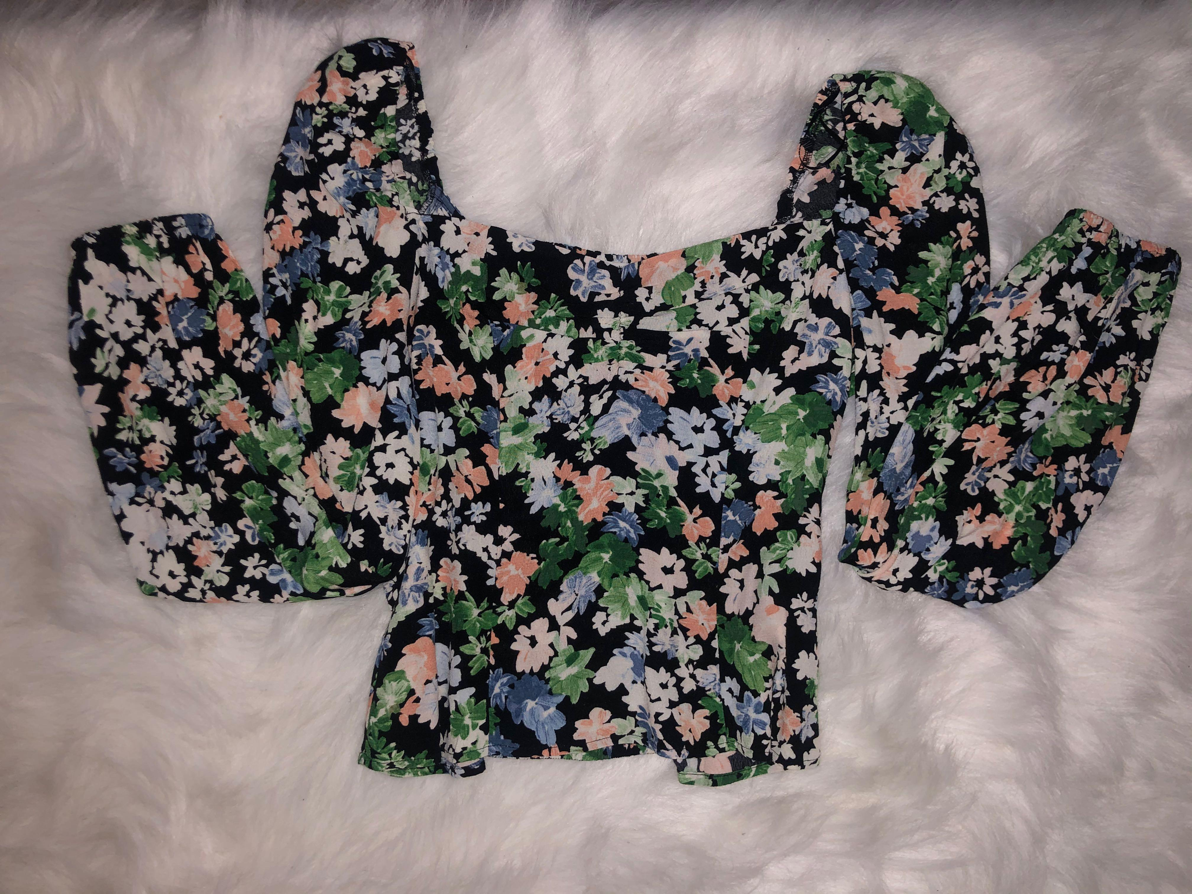 Floral thin Long sleeve