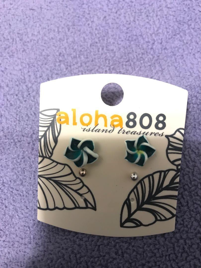 hawaiian earring set