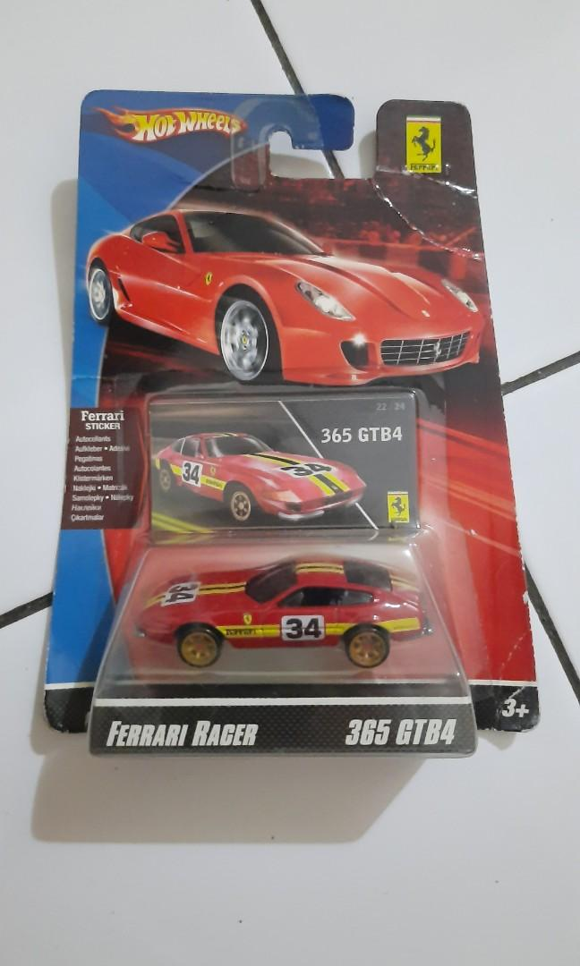 Hot Wheels Ferrari Racer 365 GTB Red VHTF