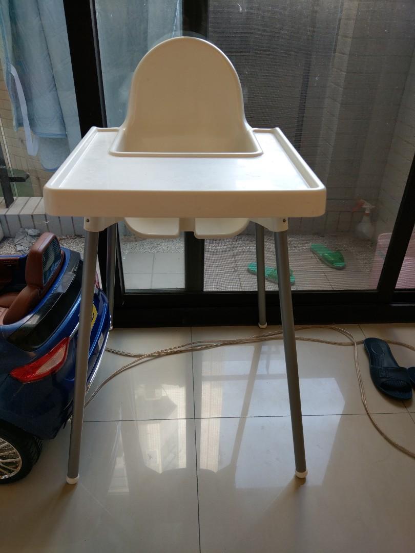 Ikea兒童高腳桌椅