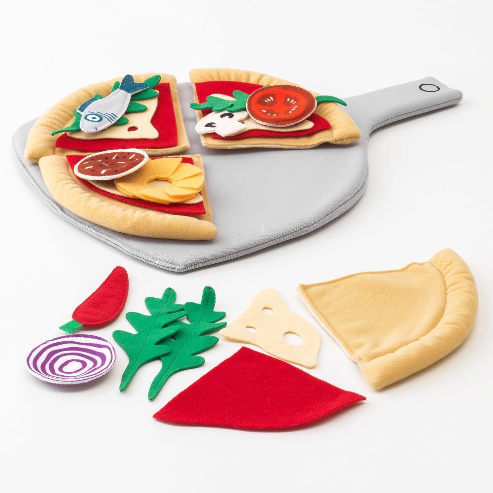 IKEA DUKTIG 披薩玩具[24件組]