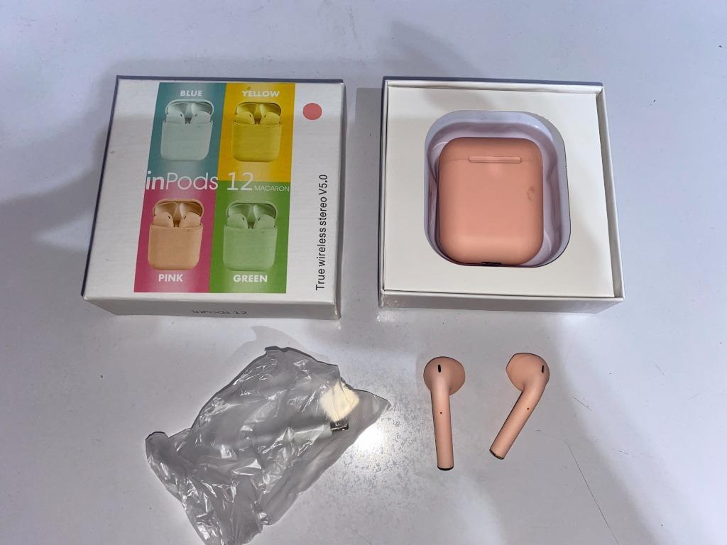 Inpods i12 TWS Pink Full set #Special1010