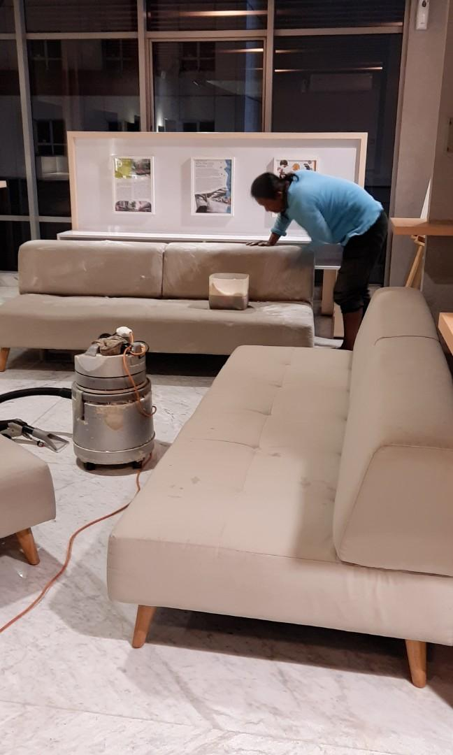 Jasa cuci sofa,springbad,jok mobil dll.area jakarta dan tangerang