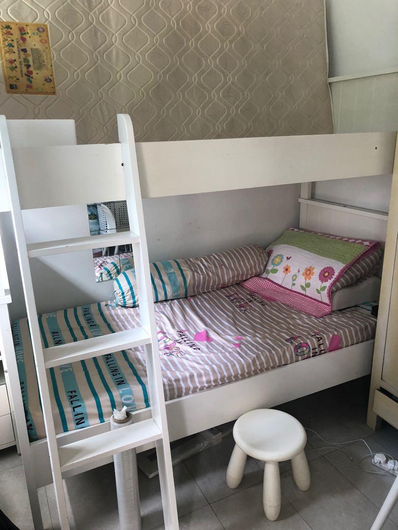 Picture of: Kids Bunk Beds Furniture Beds Mattresses On Carousell