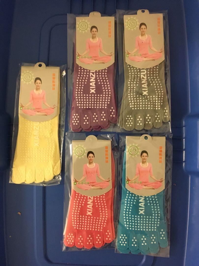 Ladies Yoga Socks - 2 pars in lot