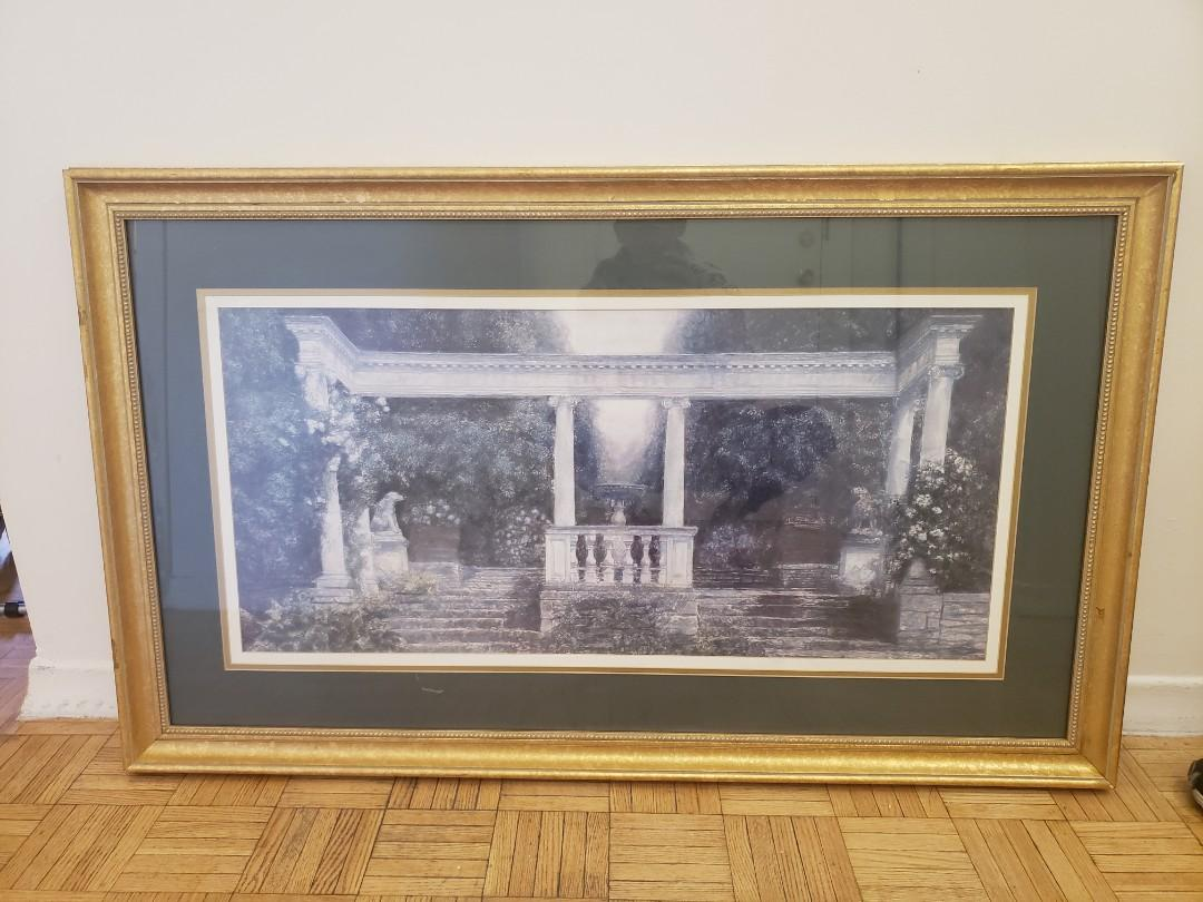 Large picture with frame