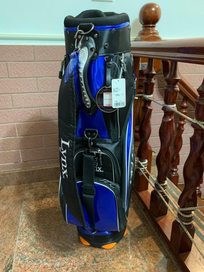 全新LYNX高爾夫球袋