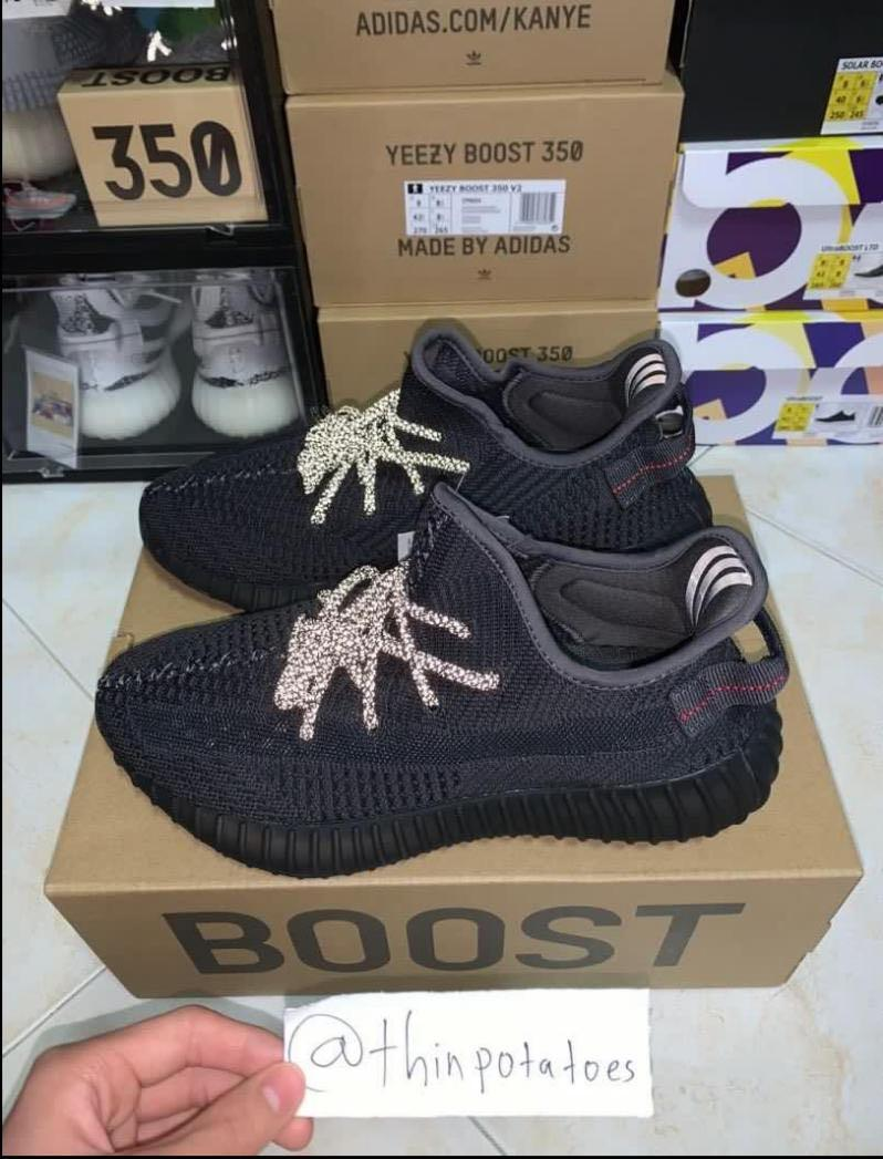 Yeezy Boost 350 V2 Black Static Non