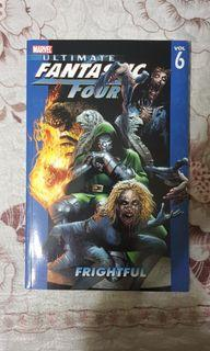 Marvel's The Ultimate Fantastic Four Vol 6: Frightful Graphic Novel