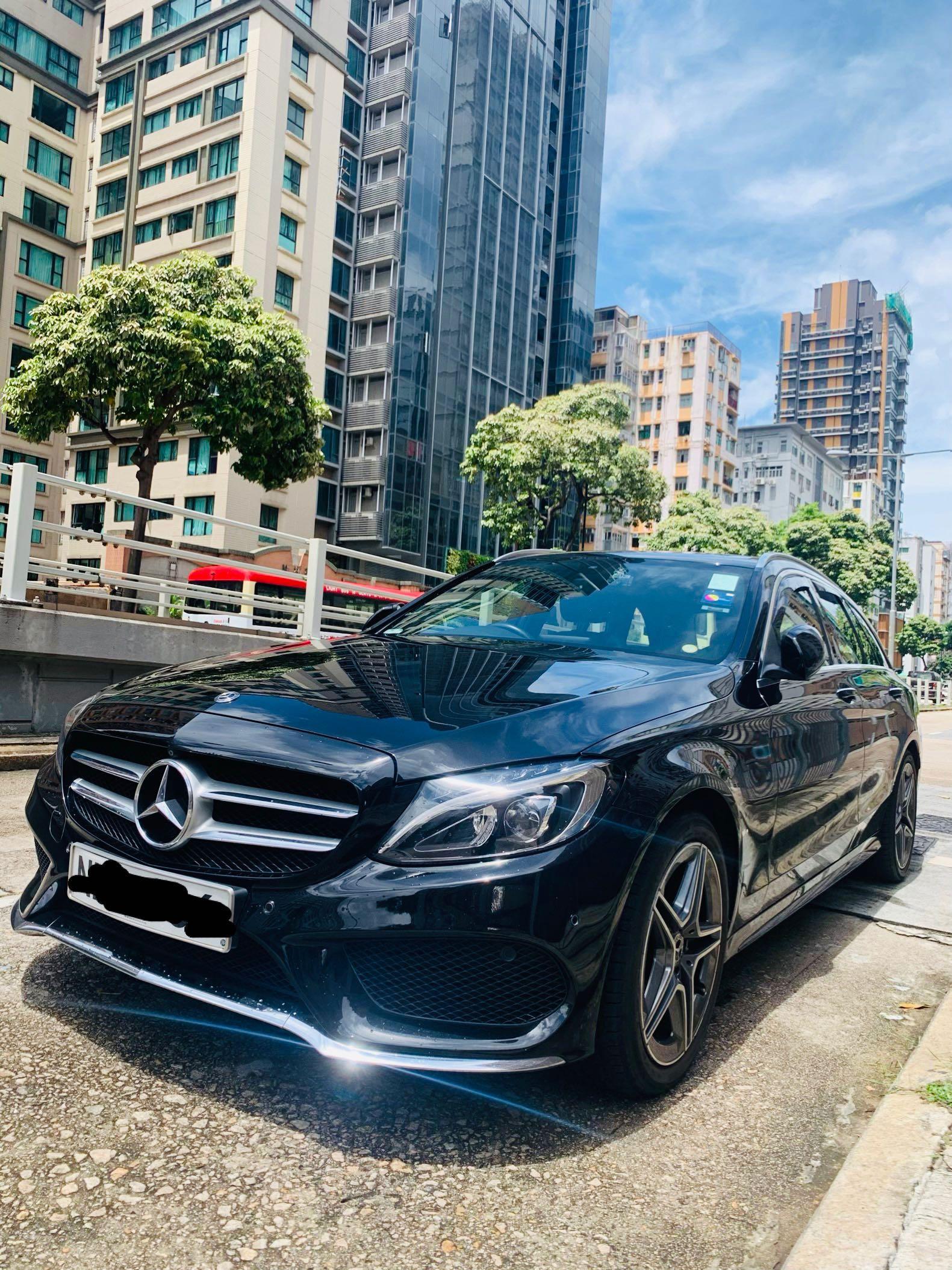 Mercedes-Benz C200 9G-Tronic AMG Line (A)