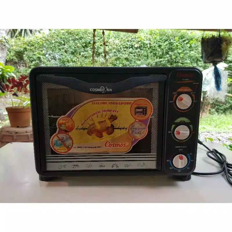 Merk Cosmo (CO-980) Electric Oven with BBQ&Rotisserie Pick