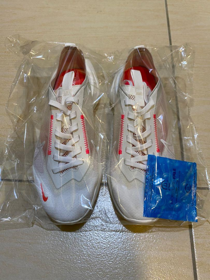 Nike Zoom Vista Lite 透明厚底老爹鞋白桃粉
