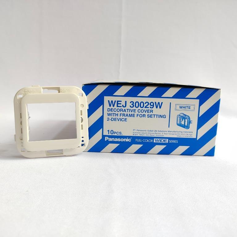 Panasonic Saklar Cover Frame - WEJ 30029W