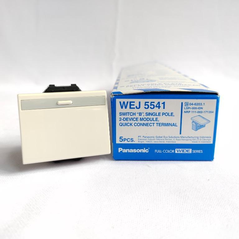 Panasonic Saklar Mata Besar Single Pole - WEJ 5541