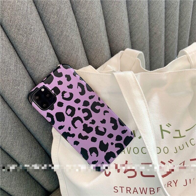 [PO] Purple Leopard iPhone Case | Casing Lucu