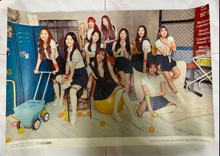 PRISTIN 'SCHXXL OUT' Album Poster (Limited Ver.)