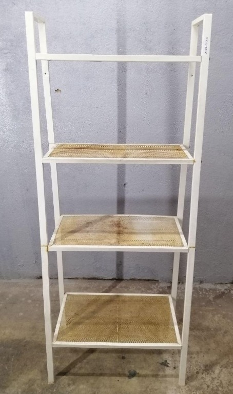 Rak Besi Ikea Iron Shelf Rack 4 Tier White P43 P Home Furniture Others On Carousell