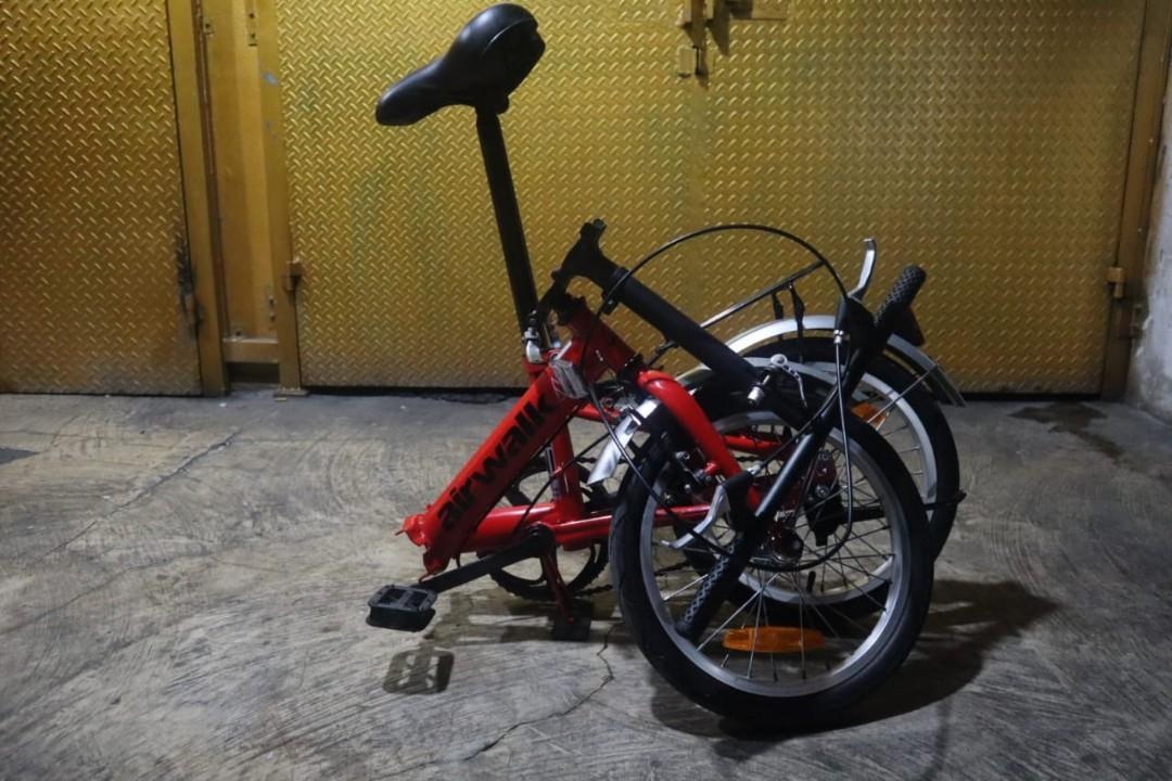 Sepeda lipat Air walk