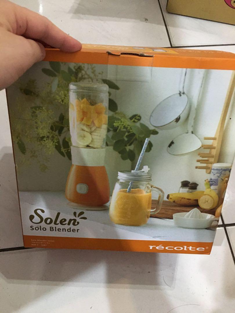 日本Solen果汁機