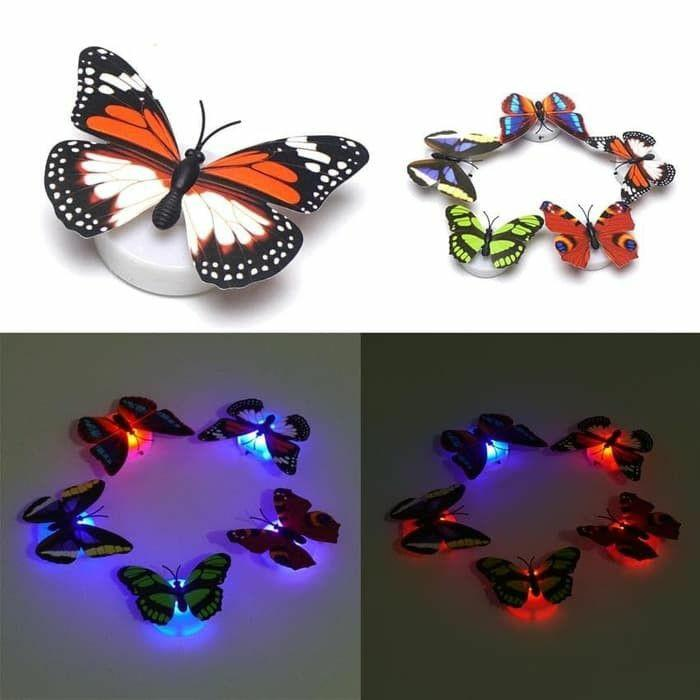 #special1010 BUTTERFLY LED isi 5pcs