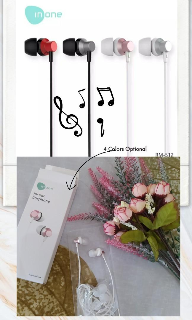 #Special1010 inone earphone rose gold