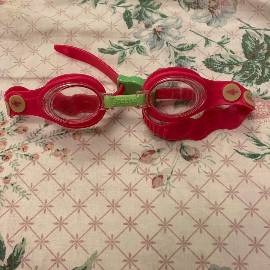 speedo兒童泳鏡
