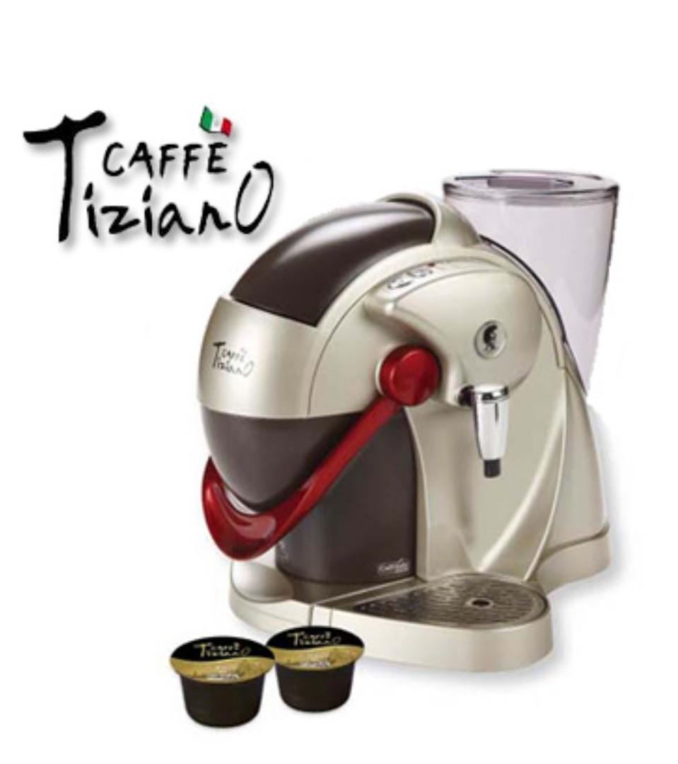 TizianO CAFFE 義式膠囊咖啡機