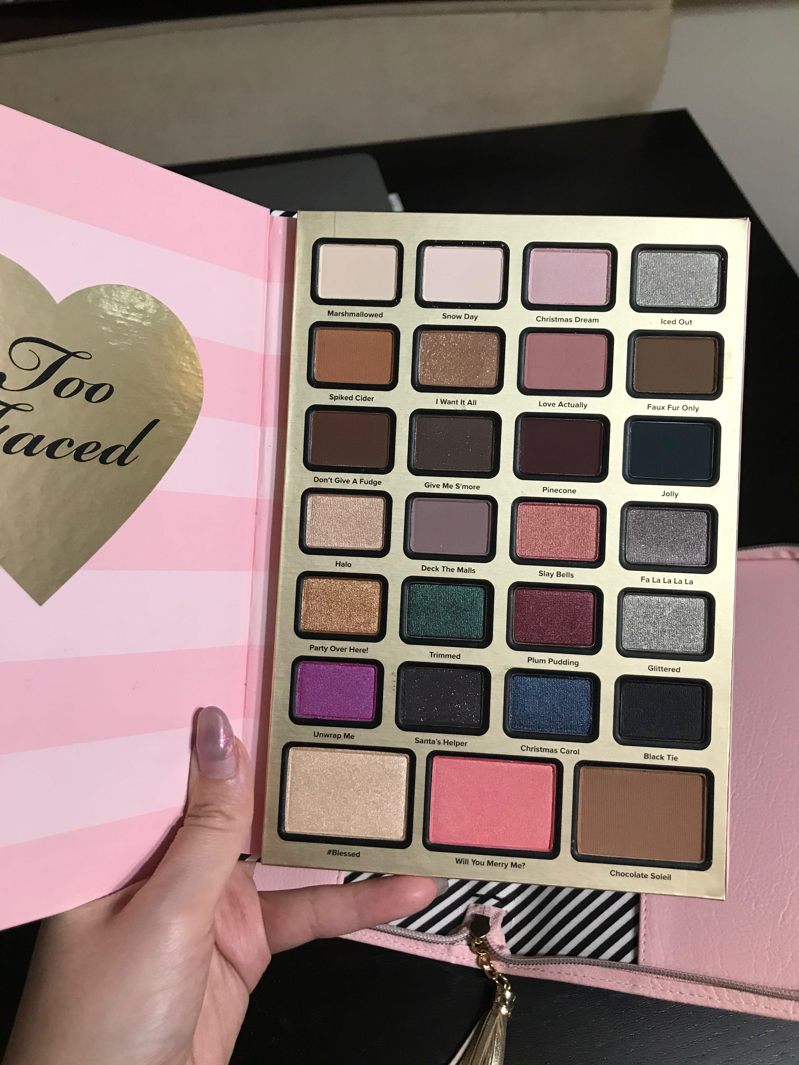 Too Faced 2018 Holiday Eye Palette