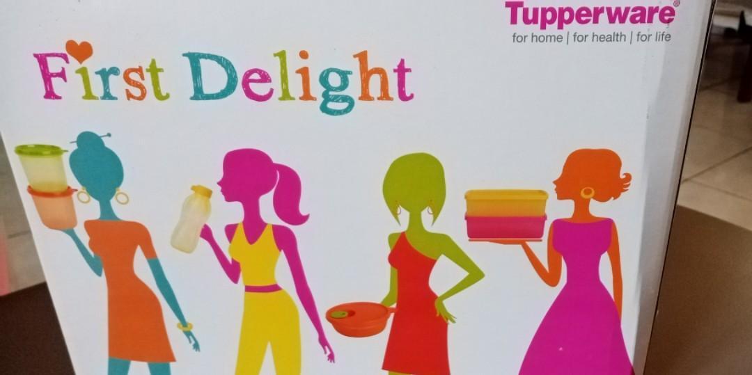 Tupperware First delight tanpa botol minum