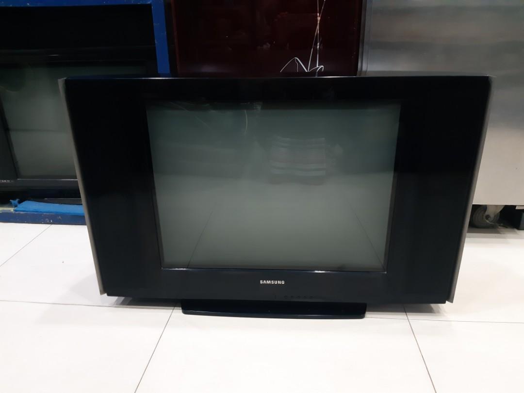 Tv Tabung 29' Samsung Zoombass, flat, gambar ok