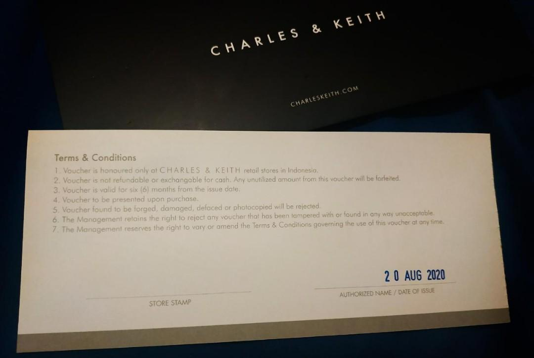 Voucher Charles & Keith
