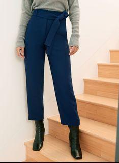 Aritzia Wilfred new tie-front pant