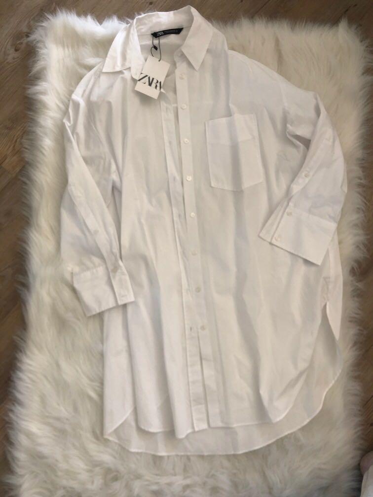ZARA - (new w. tag) boyfriends shirt style