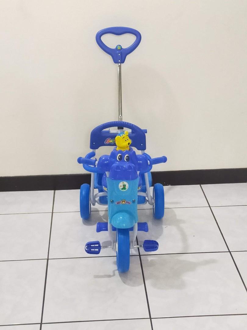 二手近全新-兒童三輪腳踏車
