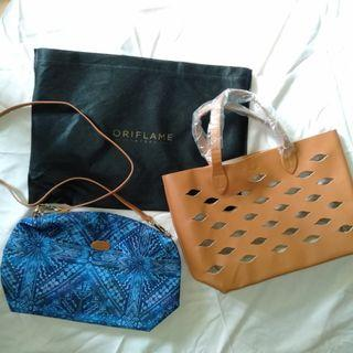 🆕 2in1 oriflame bag