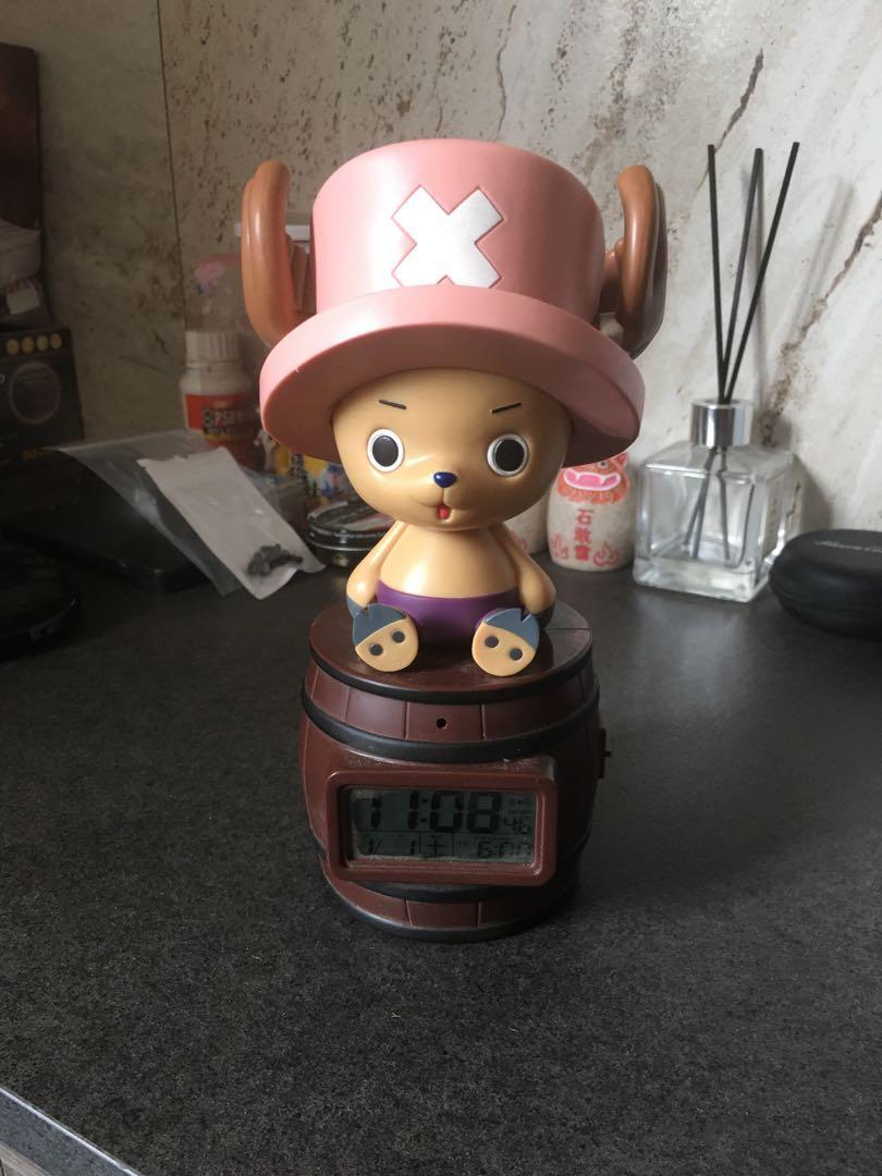 海賊王 喬巴 鬧鐘 時鐘 有聲音 功能正常
