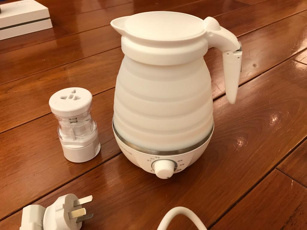北歐歐慕 升級版 二代 折疊旅行電熱水壺 迷你 便攜 家用燒水壺