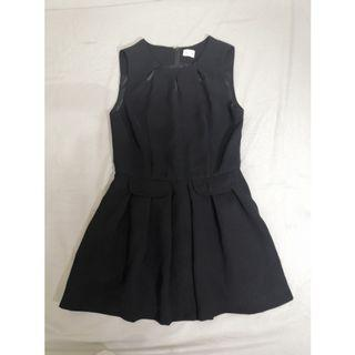 [台北東區]黑色A字短洋裝 小隻女洋裝