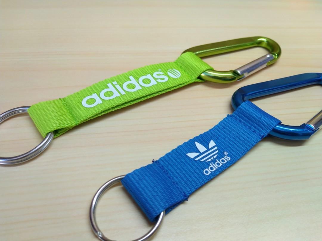 全新正品adidas 登山扣環/鑰匙圈/吊飾