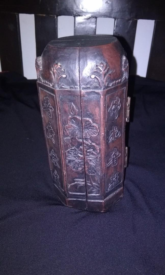 Antique chinese wood carved
