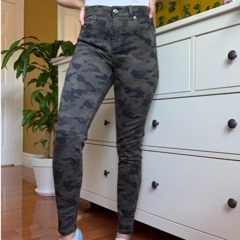army/camo skinny jeans