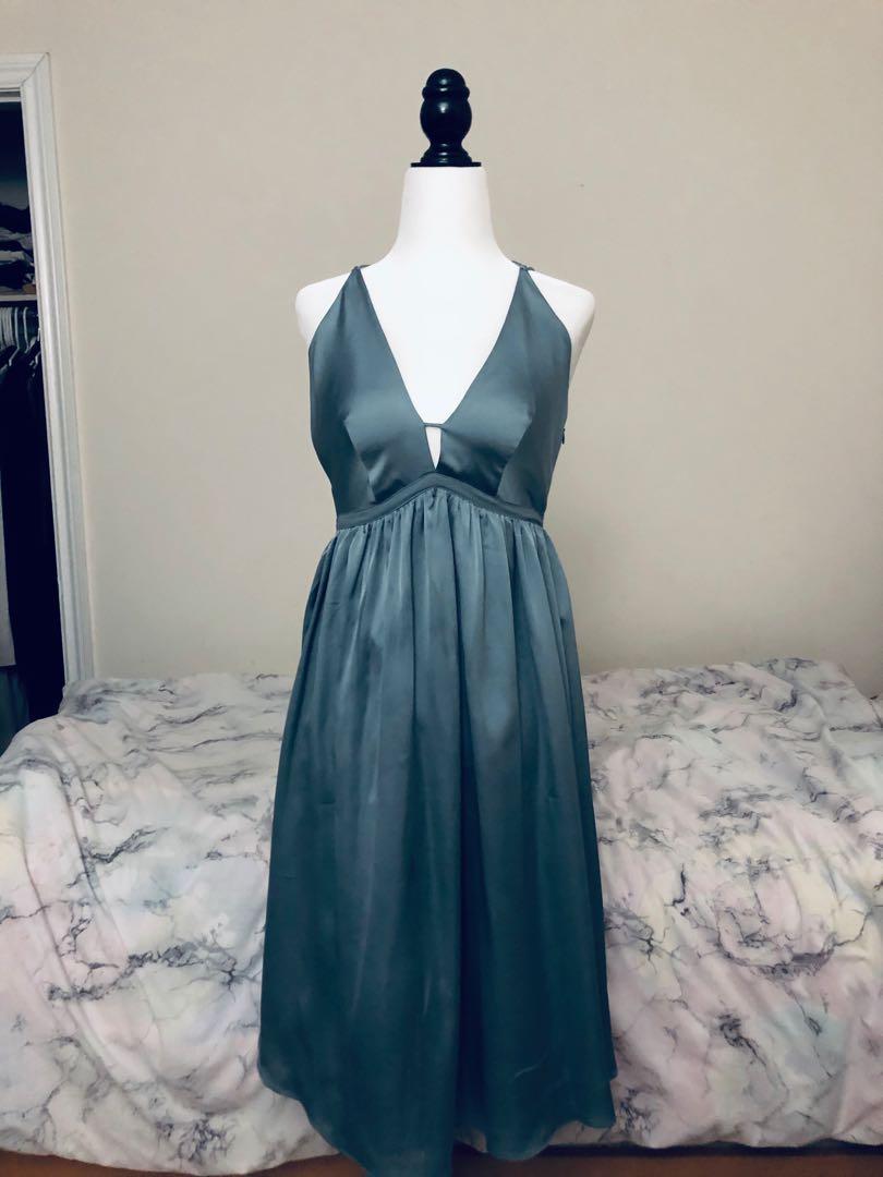 asos satin dress size 6