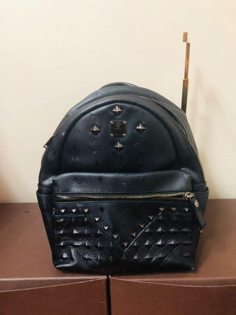 Authentic mcm backpack