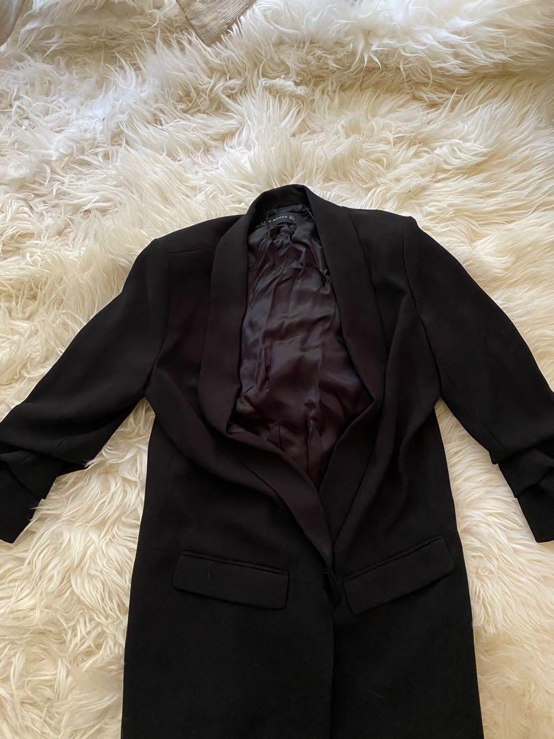 Black Zara Blazer Medium